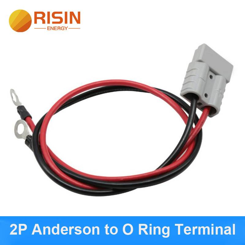2P Anderson to O ring Terminal