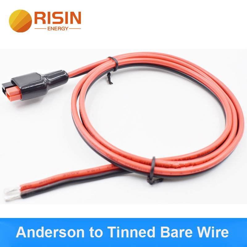 Anderson to tinned bare wire