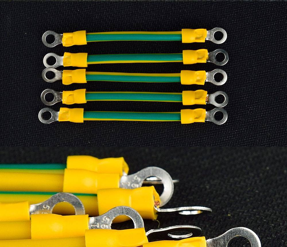 yellow green ground cable 2